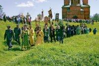 Архиерейская служба. 29 мая 2006 г. Исток Волги