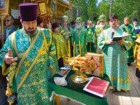Освящение истока Волги. 29 мая 2006 г.